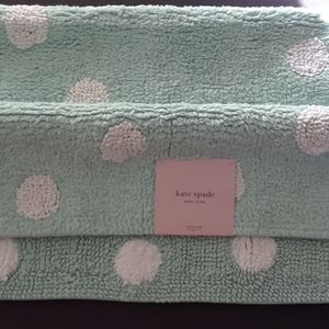 ♠️💟Kate Spade Bath Rug NWT Mint green